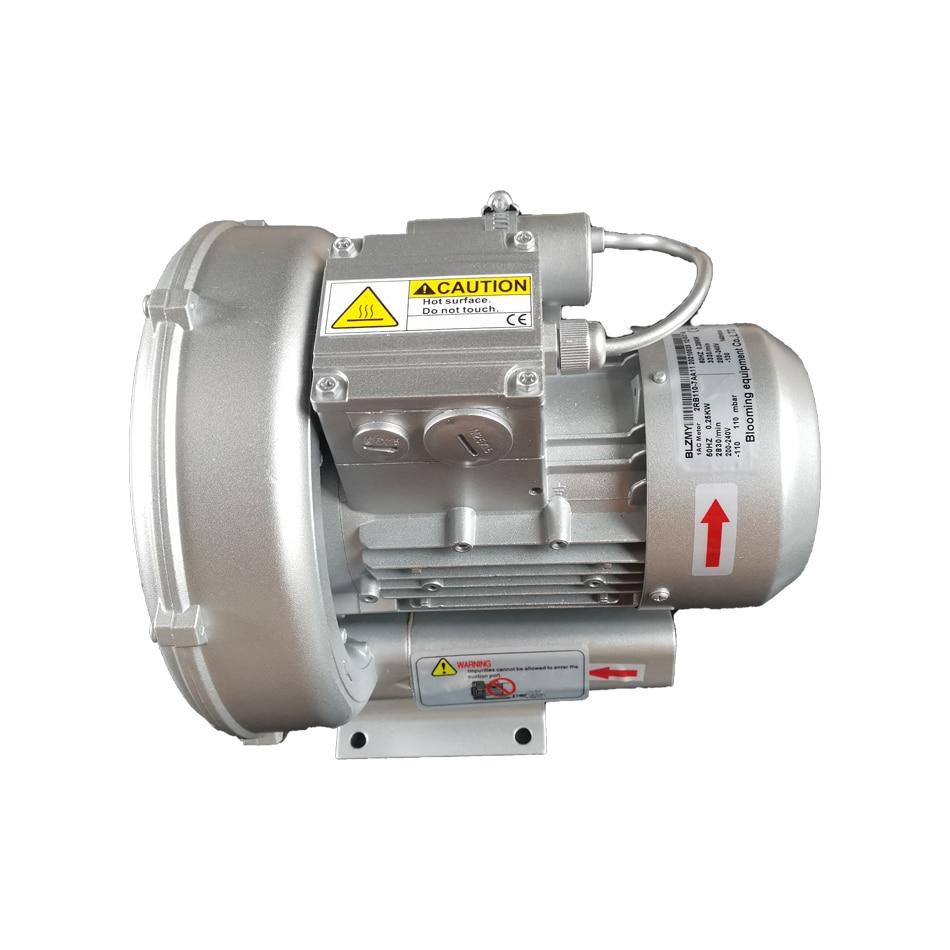 CE 2RB110-7AA11 0.25KW أحادي الطور 1AC 70m 3/h منفاخ حلقة ضغط الهواء/مضخة دوامة/مهوية بركة الأسماك