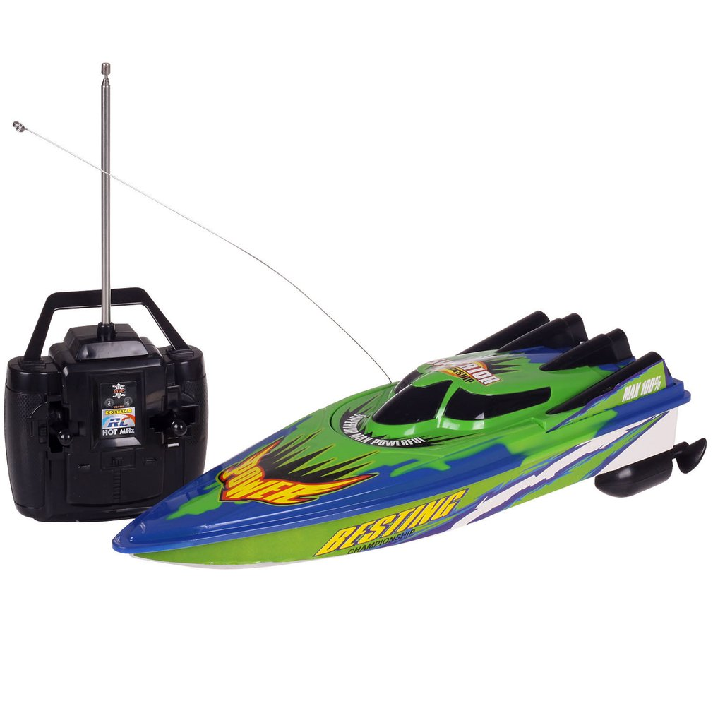 RC Racing Boat Radio Remote Control Dual Motor Speed Boat High-speed Strong Power System Fluid Type
