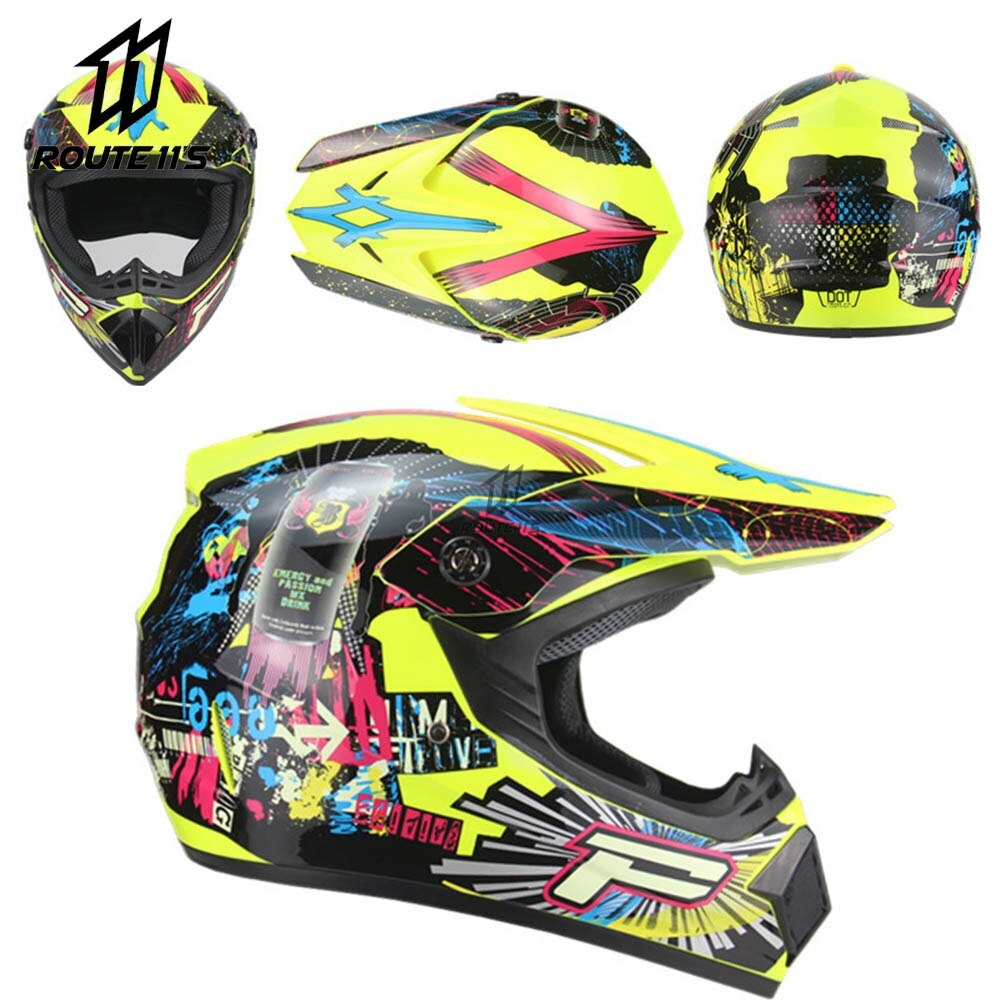 New Motocross Helmet Off Road Professional ATV Cross Helmets MTB DH Racing Motorcycle Helmet Capacete De Moto Casco Dirt Bike