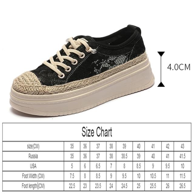 AIYUQI Fisherman Shoes Women Summer Platform 2021 Sll-match Casual Sneakers Shoes Women Korean Lace-up Ladies Shoes 8