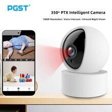 PGST IP Kamera 1080P innen Menschliche Erkennung Nachtsicht Wifi Kamera Baby Monitor Pet Kamera für tuya Sicherheit System PG107