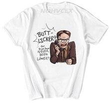Été le bureau Dwight Schrute émission de télévision hommes adulte T-Shirt décontracté à manches courtes col rond T-Shirt Hip Hop t-shirts hauts