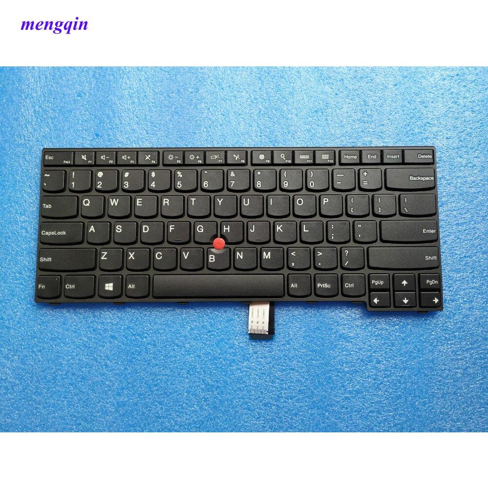 جديد الأصلي الولايات المتحدة الإنجليزية لوحة المفاتيح لينوفو ثينك باد E450 E450C E455 E460 E465 Teclado 04X6101 04X6101 04X6141 SN20E66101