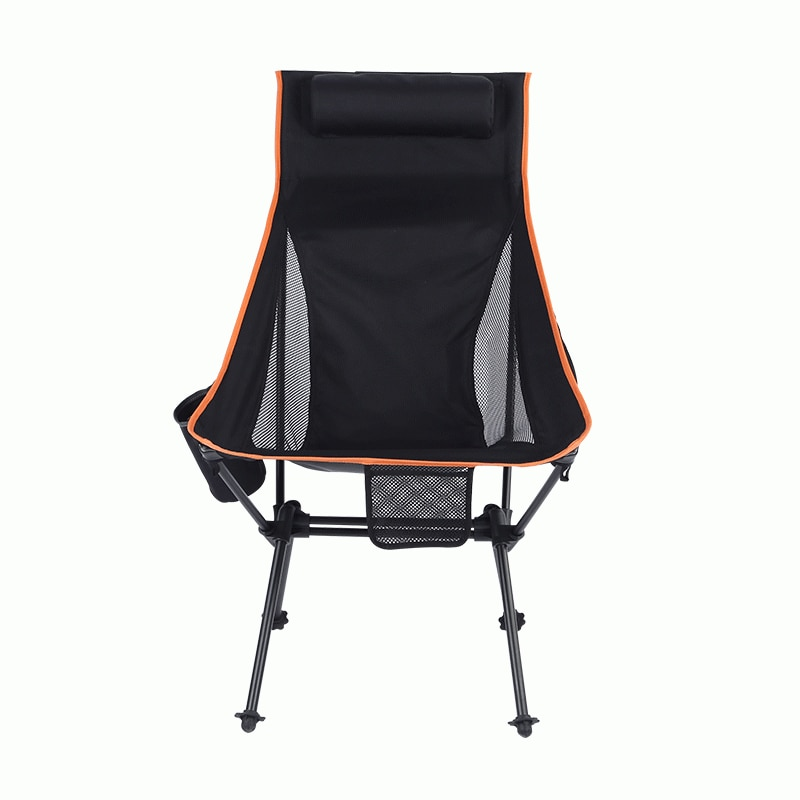 Outdoor Beach Chair Aluminum Alloy Folding Chair Ultra Light Fishing Chair Camping Camping Chair Portable Leisure Outdoor Chairs enlarge