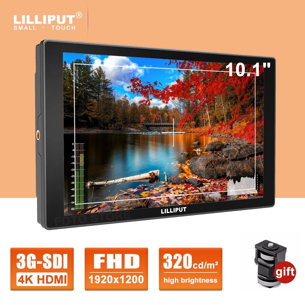 Lelle-شاشة مراقبة ميدانية لكاميرا HDMI 4K A11 ، 10.1 بوصة ، Full HD ، 1920x1200 SDI IPS ، كاميرا فيديو DSLR ، صناعة أفلام الفيديو