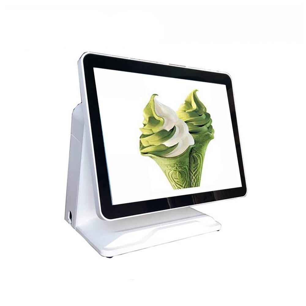 Caja registradora precio de fábrica pos todo en un punto de venta 15 pulgadas pantalla táctil capacitiva pos terminal pantalla monitor de ordenador