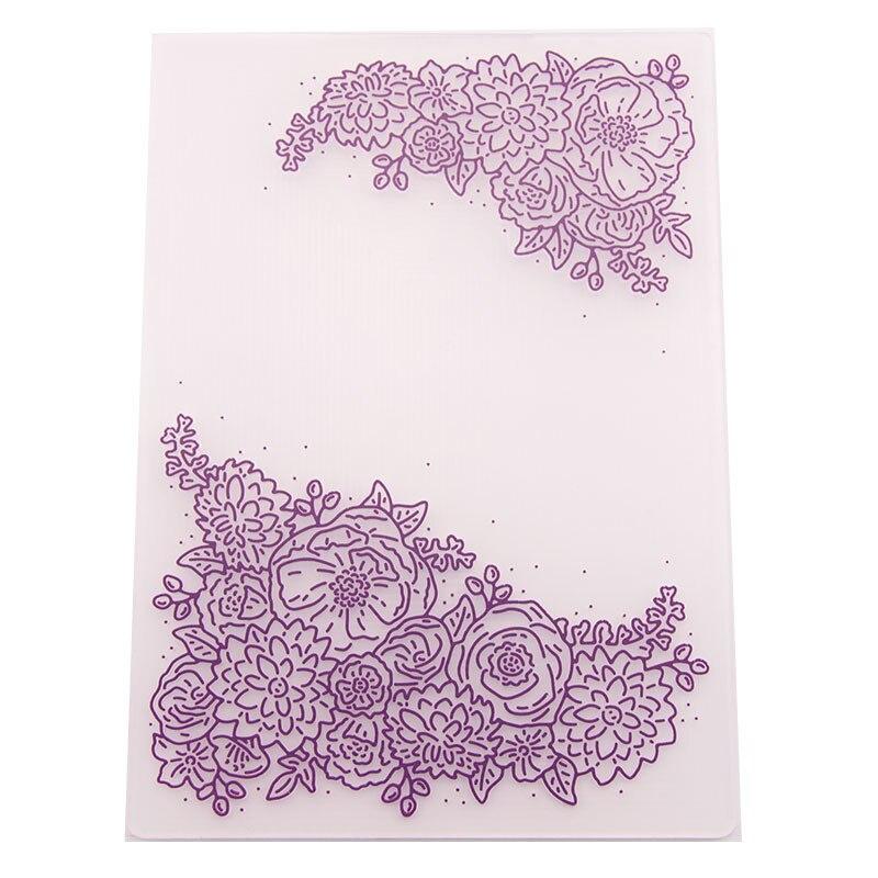 Пластиковые шаблоны с тиснением для рукоделия, сделай сам, изготовление открыток, скрапбукинг, украшение для фотоальбома, тисненый зажим дл...