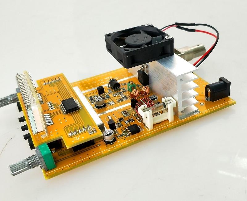 Kits de bricolaje 1W/7W transmisor FM boadcast PCB 76M-108MHZ estéreo transmisor PLL FM suite