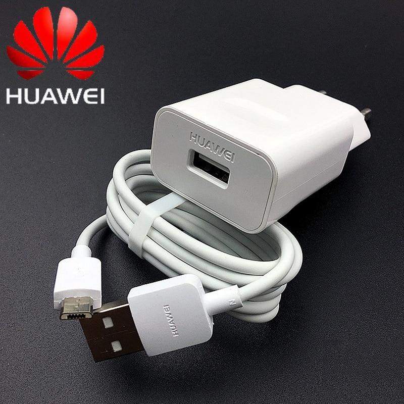 Huawei p smart 2019 ladegerät Original 5v2a ladegerät micro usb kabel huawei p8 p9 p10 lite Ehre 8x 7x y6 y7 y9 2019 p smart z 2019