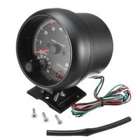 hot sale waterproof 12v car led shift light 0 8000 rpm new tachometers tacho gauge meter