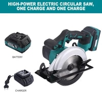 9 inch electric circular saw maximum 125mm saw blade brushless multi angle cutting saw with 18v battery