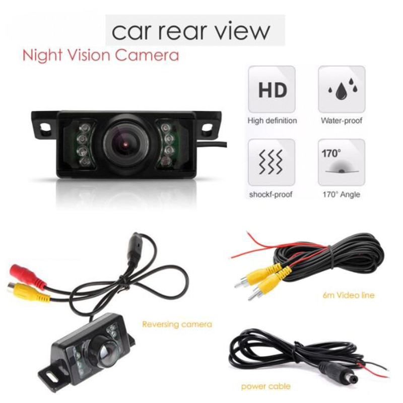 Gran oferta Mini Cooper cámara de respaldo de seguridad de visión trasera de coche impermeable