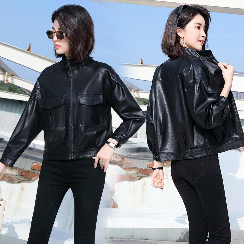 Women's Jacket Autumn 2021 Fashionable Simple Elegant Waist-Tight  Slimming Casual Slim Fit All-Matc