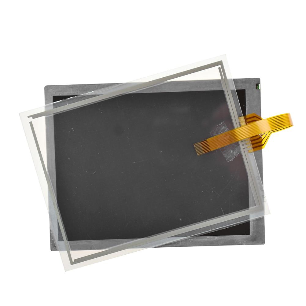 ل FANUC A05B-2255 C101 # EMH # ESW # EAW # EGN # JMH شاشة تعمل باللمس الزجاج شاشة الكريستال السائل