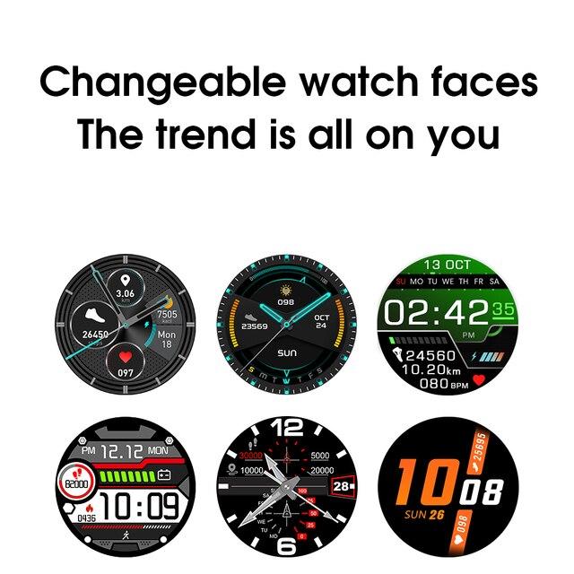 Ipbzhe Smart Watch Men 2021 Android IP68 ECG Smartwatch Men Sports Reloj Inteligente Smart Watch For Phone Iphone Android Huawei 6