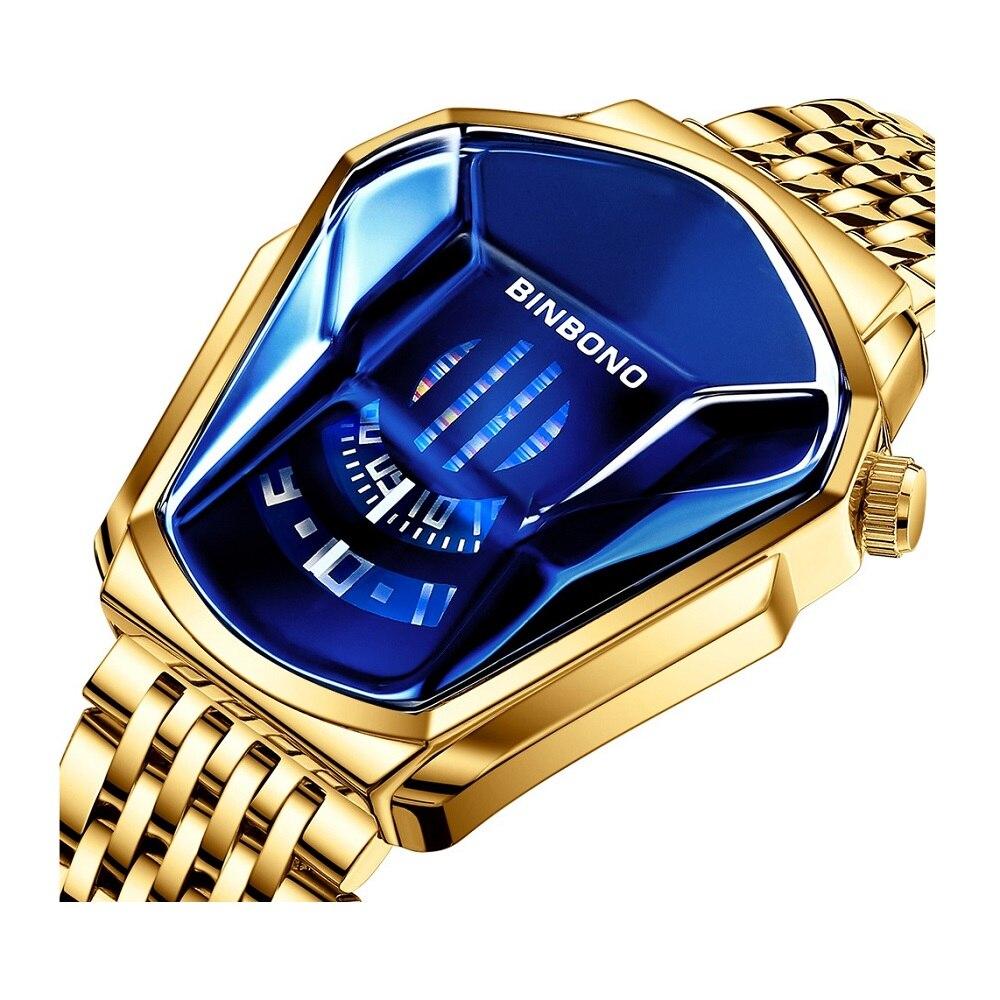 Relojes Hombre 2020 Modernos Waterproof Man Student Locomotive Shaping Male Watches Trendy Men's Wat