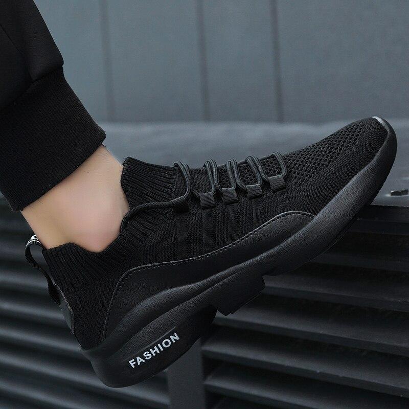 Zapatos informales para hombre 2020, zapatillas deportivas superligeras para correr, zapatillas deportivas para correr al aire libre, Zapatillas de malla para caminar, zapatillas de deporte para correr