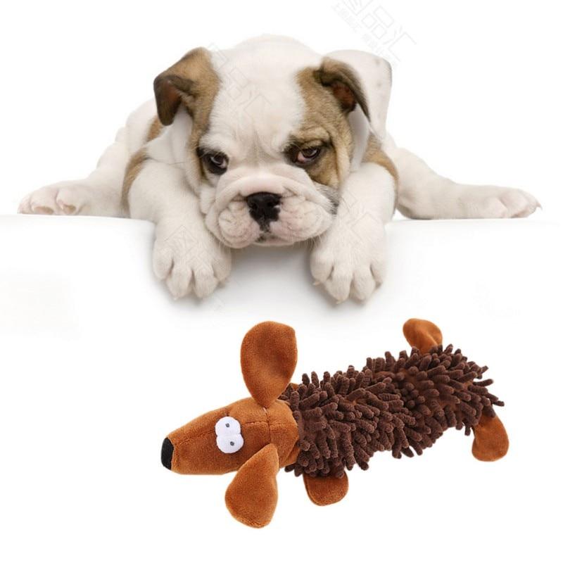 Собака Щенок пищит звук зуб жевательная игрушка забавный питомец кошка собака пищащая плюшевая игрушка интерактивная игра для маленьких б...