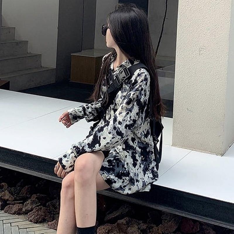 XEJ Chiffon Blouse for Women Vintage Clothing Spring Summer 2021 Women Fashion Blouse Pour Femme Street Style Long Sleeve Shirt