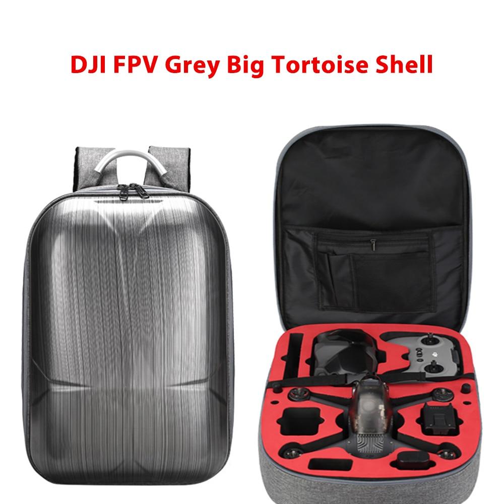 Drone Backpack Shoulder Bag Hard Case Storage Box For DJI FPV Combo Glasses V2 Remote Controller Charger Outdoor Travel Bag