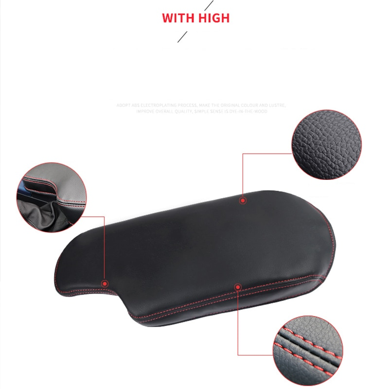 For BMW F30 Armrest Box Cover Pad Car Accessories Protective Case for Cars Handle Pads Interior Automobiles Parts 2012-2019 enlarge