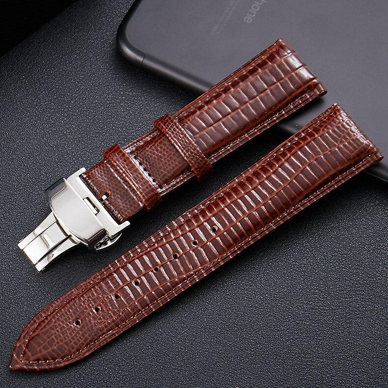 Genuine leather Strap for Garmin vivoactive 4 3 music garmin active Smart Wristband for Forerunner 245M Garmin Move Luxe band