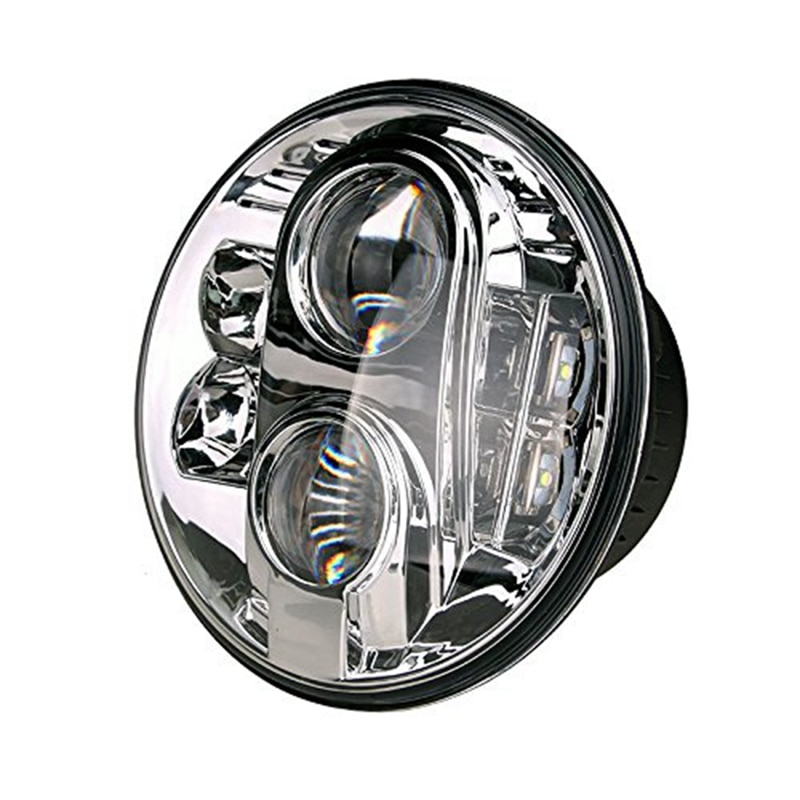 Motorcycle Accessories For Street Glide Road King 7 inch LED Headlight Mounting Bracket Ring 4.5  Fog Lights 6000K
