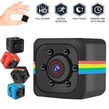 SQ11 Mini Camera HD 1080P Smart Home Sensor Nigh Infrared Motion Video Surveillance Mini Camcorder N