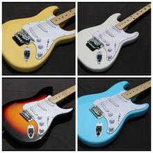 S-GB6 Standard guitare électrique pétoncle touche couleur crème