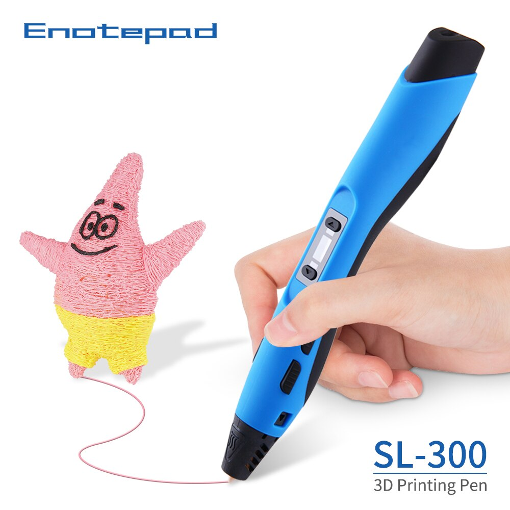 SL-300 3D Printing Pen SUNLU Intelligent 3DPen  Painting PLA/ABS Filament Creative professional sublimation printer kit pencil