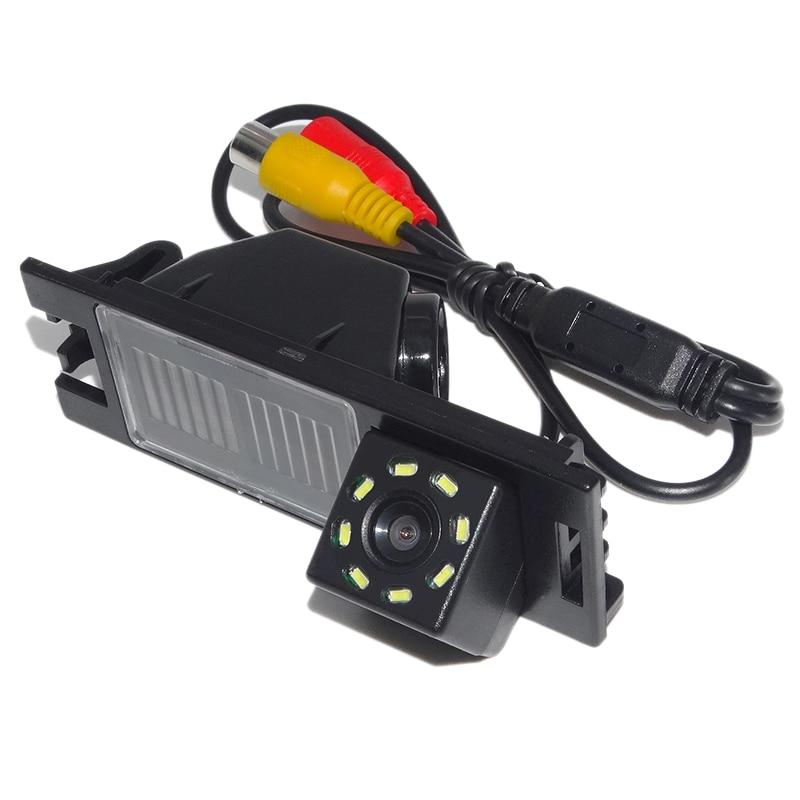 سيارة كاميرا الرؤية الخلفية عكس وقوف السيارات الغيار 8Led مقاوم للماء للرؤية الليلية كاميرا لشركة هيونداي الجديدة توكسون Ix35 2006-2014