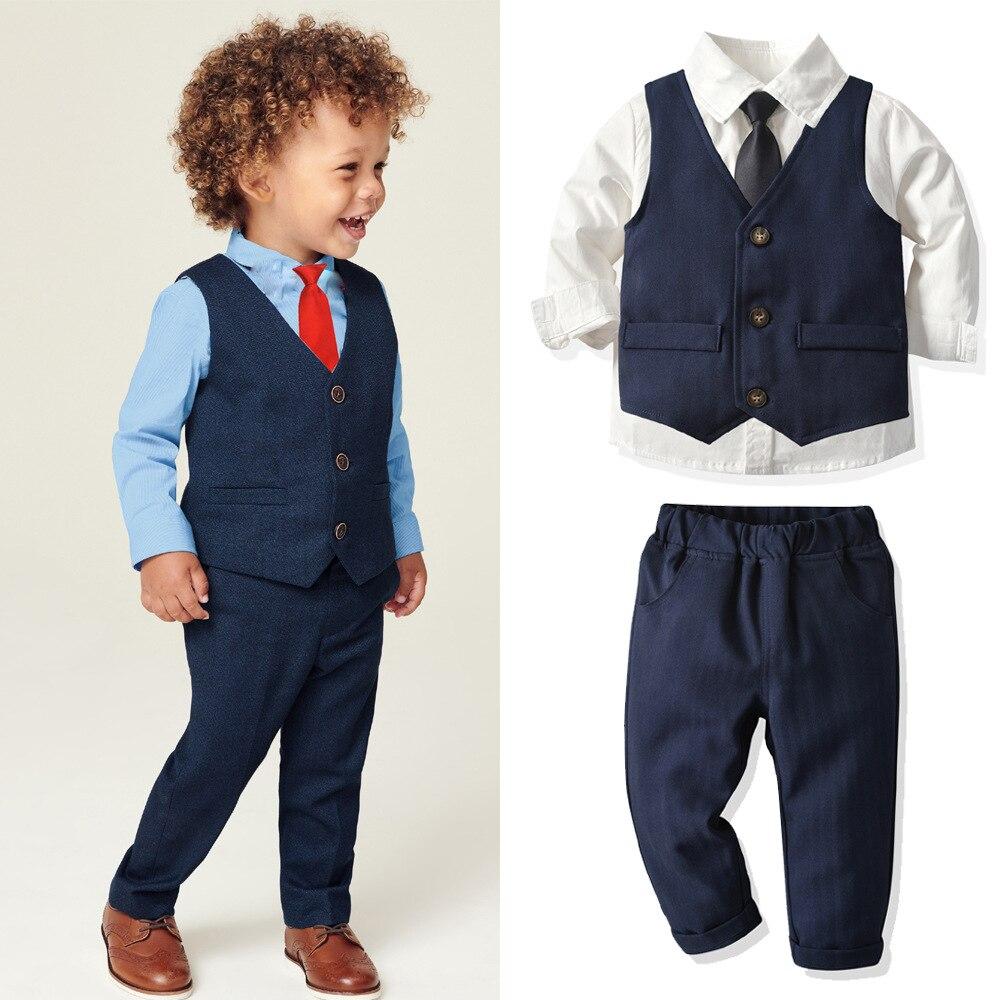 conjunto infantil de camisa e calca calca roupas de natal para meninos de 2 a 8 anos 2021