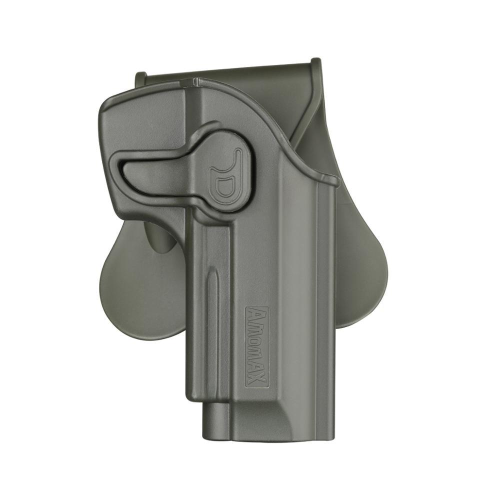Se ajusta a Beretta 92, 92FS, M9, funda de polímero