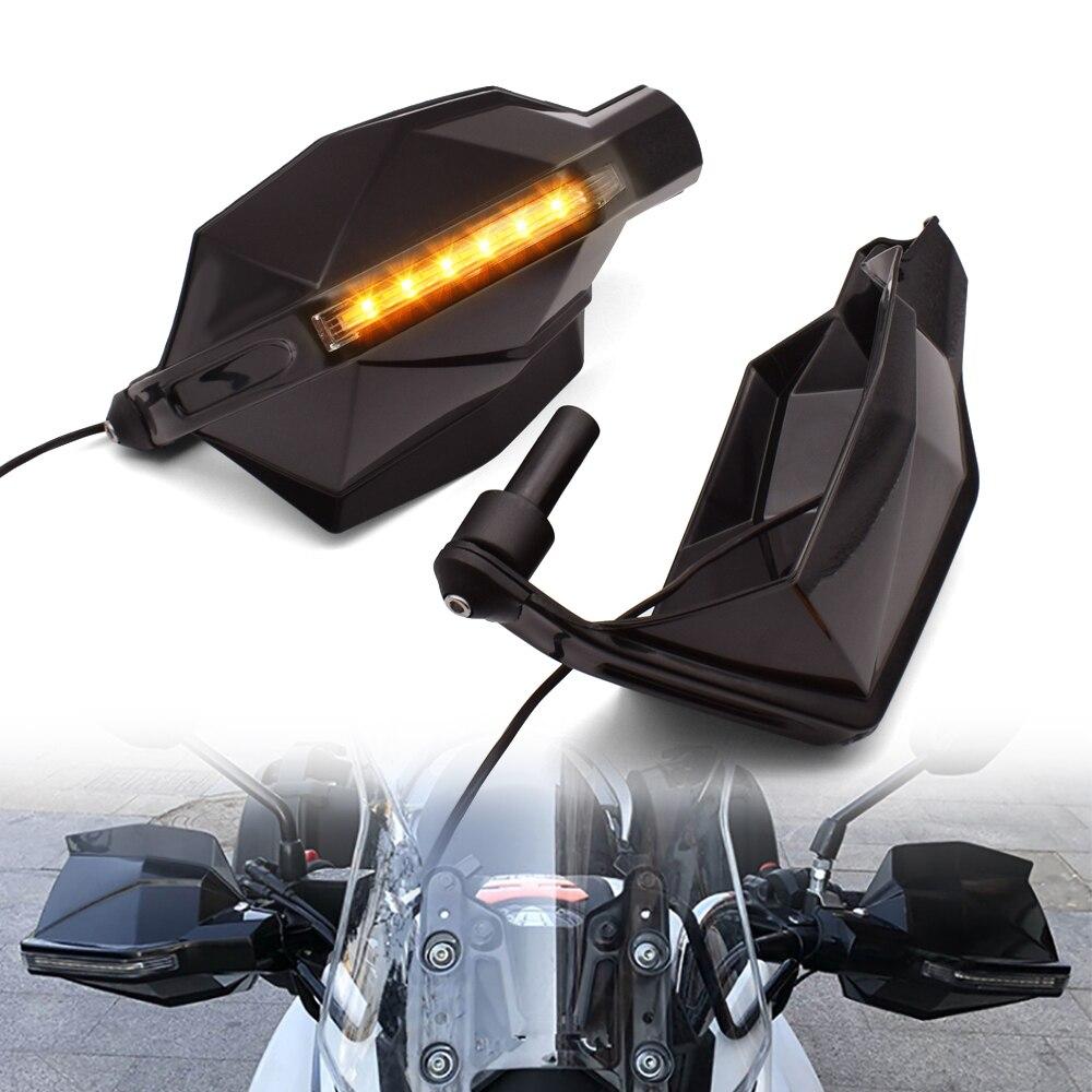 ل موتو جوزي بريفا 750 1100 غرسو MGX21 GT8V نورج 1200 دراجة نارية حامي اليد درع يندبروف الحرس اليد فرشاة مصباح إشارة