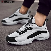 2021 new sneakers man increase dady shoe spring summer autumn breahable ligthweight mens sneakers fashion shoes high quality