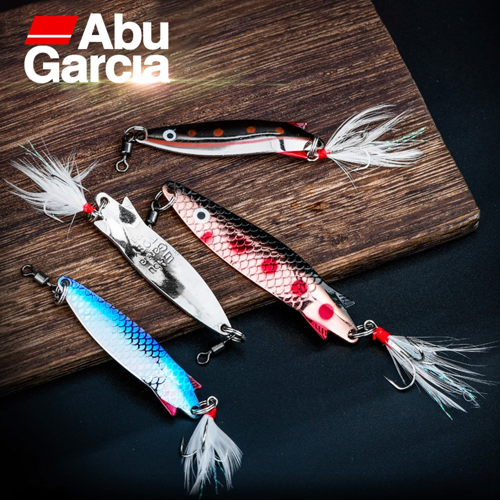 Abu Garcia-señuelo de cuchara, cebo de pesca de 7g, 10g, 12g y...
