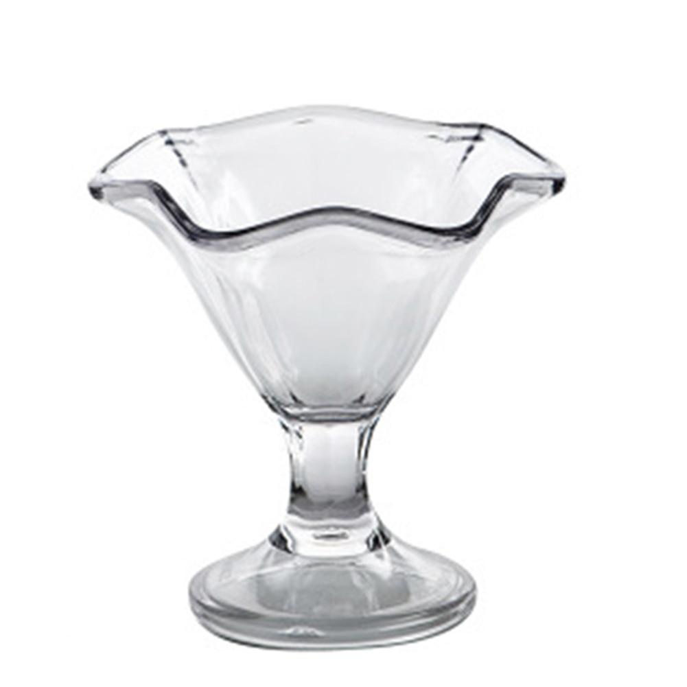 Nueva taza de postre Sundae Ultra transparente gruesa sólida Base acrílica resistente al calor copa de postre-35