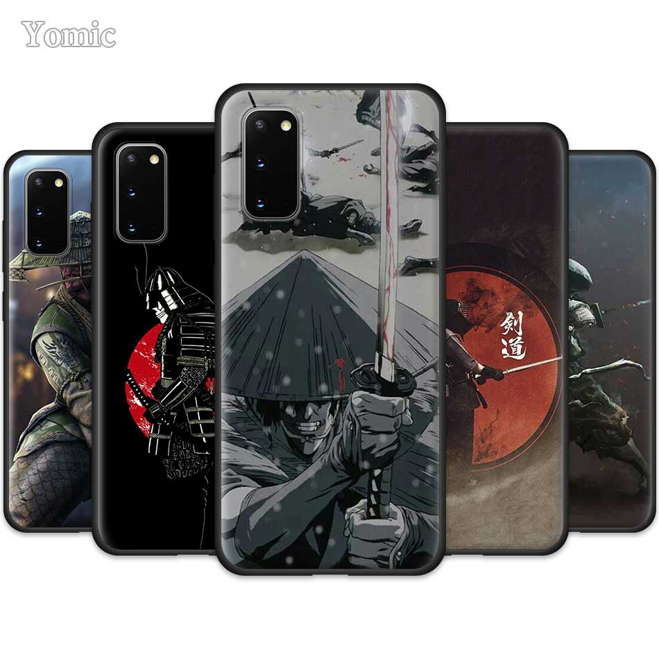 AAA Fall für Samsung Galaxy S20 Ultra 5G S10 Lite S10e S9 S8 Hinweis 8 9 10 Plus Schwarz weichen Telefon Abdeckung Sac