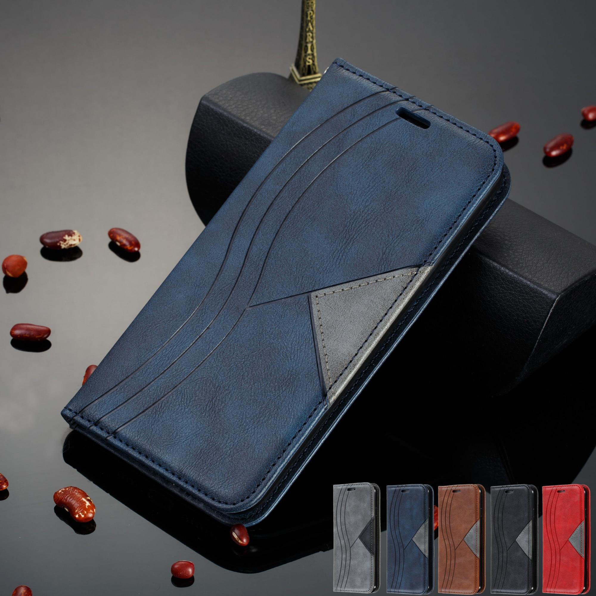 Capa de telefone para etui xiaomi redmi 8 redmi 8 caso da aleta ímã de couro para capa xiaomi xiomi redmi 7 6 redmi 7 redmi 6 caso carteira