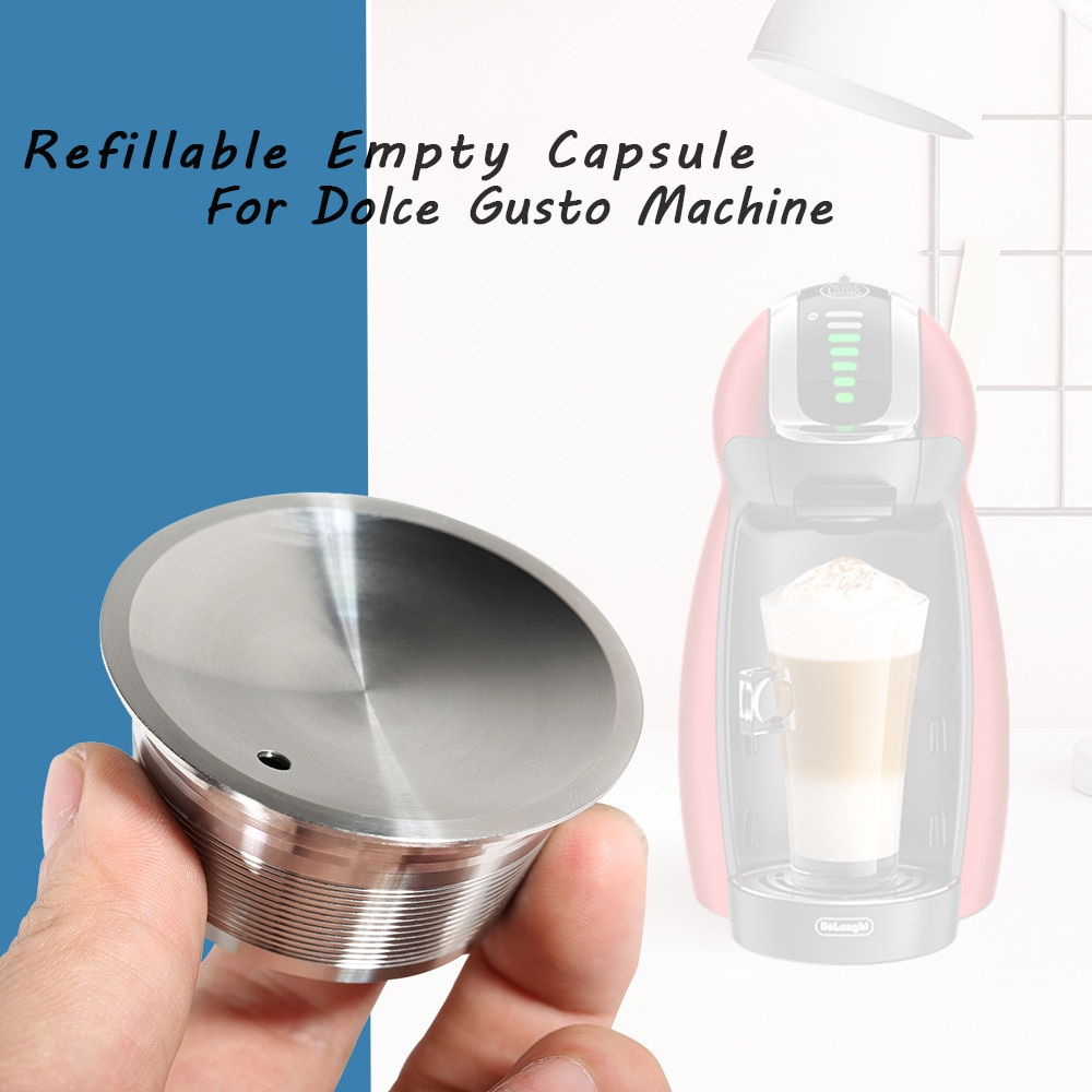 AliExpress - Reusable Capsula For Dolce Gusto Refillable Metal Dolce Gusto Pod CupStainless Steel Dolce Gusto Filter Baskets Capsule Dripper