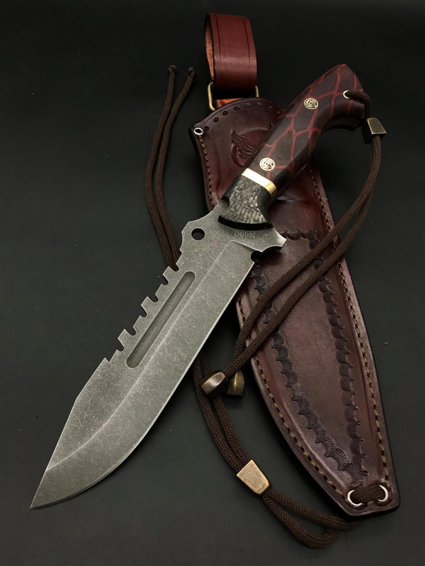 BOHLER N690 Special Design Camping Knife TK15