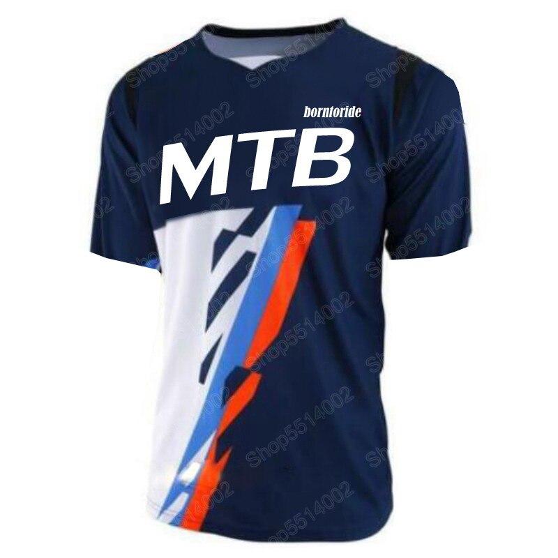 Camiseta de motocross enduro de secado rápido para hombres, jersey para descenso...