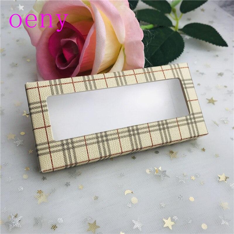 Caja de embalaje al por mayor para pestañas en blanco Paquete de pestañas en papel Multicolor pestañas de caja de embalaje de maquillaje