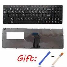 RU czarny nowy laptop klawiatura do lenovo B570A B570E B570G B575 B575A B575E B590 B590A B580 Z570 Z575 V570 V570C V575 V570G