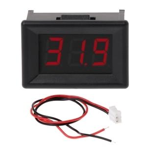 """DC 2.4V-30V 2Wires Voltmeter Mini 0.36\"""" Digital Voltage Gauge Meter for Auto Car MOLC"""