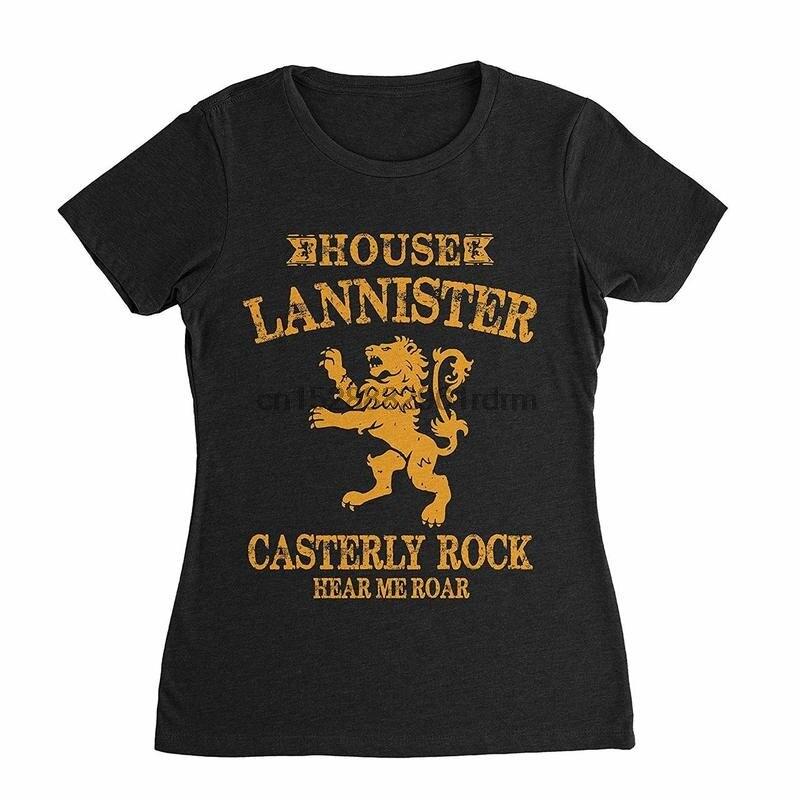 Ropa Casa Lannister Juego de Tronos Camiseta (mujeres) 8456