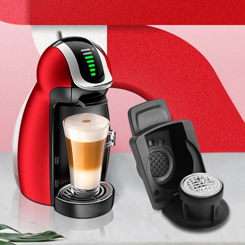 Адаптер dolce gusto для кофемашины Nespresso, многоразовые аксессуары, капсулы, Конвертируемые, совместимы с Dolce Gusto 96x43 мм
