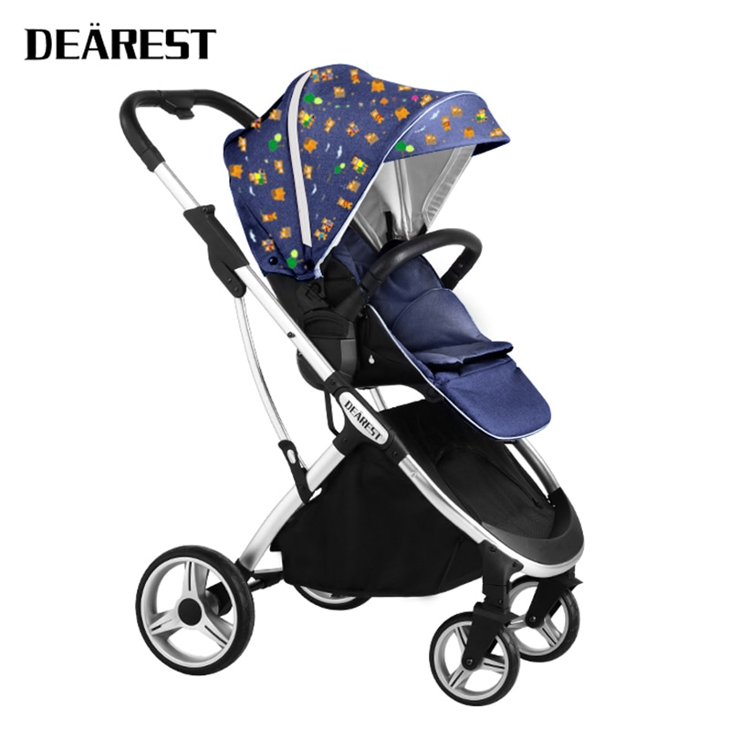 DEAREST 1108 Baby Dtroller High View Two-way Adjustable Seat Is More Suitable For Mothers Needs