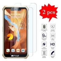 2 1pcs for oukitel f150 bison 2021 glass screen protector film cover for oukitel bison 2021 wp12 wp10 wp5 wp8 pro tempered glass