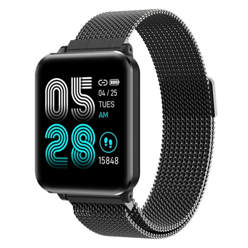 Reloj inteligente P1 GPS brazalete de seguimiento de movimiento Monitor de ritmo cardíaco IP67 Modo deportivo impermeable Smartwatch para IOS Android